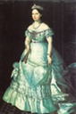 Grand Duchess Sophie in late 1860s dress by ? (location unknown to gogm)