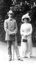 Grand Duke Paul and his second wife, Princess Olga Paley