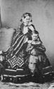 Grand Princess Maria Nikolaievna, Duchess of Leuchtenberg, and son George the lost gallery.jpg
