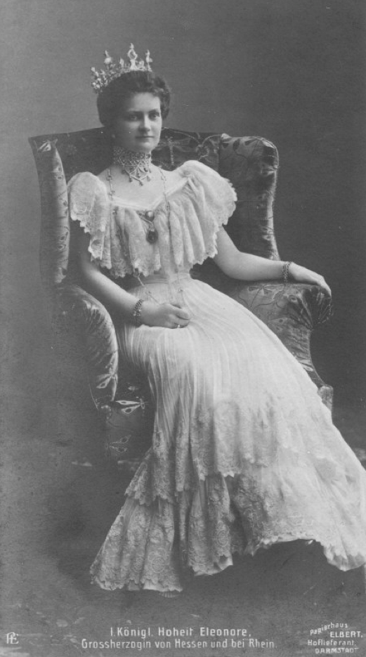 Grand Duchess Eleonore of Hesse and by Rhine, née Princess to Solms-Hohensolms-Lich EB detint