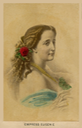 Hand-tinted Empress Eugénie CDV eBay despot renewed borders -