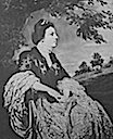 Hannah Howard, 1st wife of John, 10th Earl of Rothes from a portrait by Coates (Clan Leslie Charitable Trust - Leslie, Fife UK)