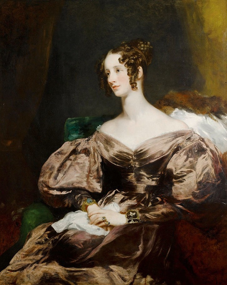 Harriet, Countess Howe by Margaret Sarah Carpenter (auctioned by Bonham's) From tumblr.com:search:19th%20c.%20Britain
