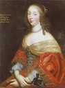 Henriette de Colligny, Countess of Haddington by Beaubrun brothers studio (auctioned)
