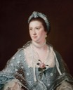 Hon Mrs Boyle by Joseph Wright of Derby (Auckland Art Gallery - Auckland, New Zealand) Google Art Project via Wm