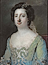 1758 Hon. Bridget Bourke by Francis Cotes (auctioned by Christie's)