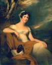 Honorable Elizabeth Emma Crewe, later Emma Cunliffe and later Emma Cunliffe-Offley by Sir Thomas Lawrence (Huntington Library, Art Collections & Botanical Gardens - San Marino, California USA)