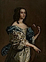 Honourable Miss Leigh (d.1688), Viscountess Tracy by ? (Lamport Hall - Lamport, Northamptonshire UK)