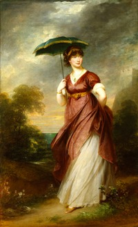 ca. 1802 HRH Princess Augusta Sophia of Britain by William Beechey (Royal Collection) From the lost gallery