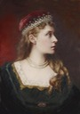 HSH Princess Victoria of Hesse by ? (location unknown to gogm) the lost gallery despot throughout