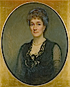Ida, Countess of Bradford by Frank Brooks (Weston Park - Weston-under-Lizard, Staffordshire)