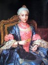 Infanta Maria Josefa de Borbon by Anton Raphael Mengs (location unknown to gogm)