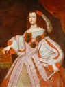 Infanta Maria Teresa (1638-1683, future Queen of France) by Juan Carreño de Miranda Wm X 2