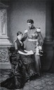 Infanta Paz with her husband, Prince Ludwig Ferdinand of Bavaria