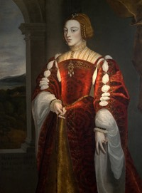 Isabel de Portugal by ? (location unknown to gogm) From the lost gallery's photostream on flickr