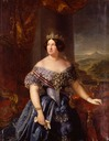 Isabel II by Federico Madrazo y Kunz (location unknown to gogm)