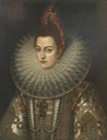 Isabella Clara Eugenia of Austria (1566–1633), Infanta of Spain by Frans Pourbus the younger (British Museum - London UK)