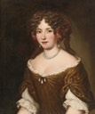 Isabella Strozzi Costaguti by Jacob Ferdinand Voet studio (auctioned by Sotheby's) Wm