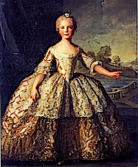 1749 Isabella of Parma by Jean-Marc Nattier (V