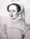 Jeanne d'Albret drawing by ? (location unknown to gogm)