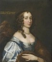 Jemima Montagu, née Crewe (1625–1674?), 1st Countess of Sandwich attributed to John Hayls (Hinchingbrooke House - Huntingdon, Cambridgeshire UK)