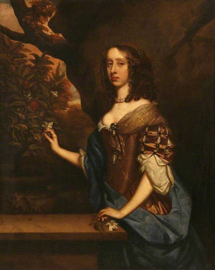 Jemima, née Carew, 1st Countess of Sandwich (1625–1674) by the studio of Sir Peter Lely (Mount Edgcumbe House - Torpoint, Cornwall, UK) From artuk.org