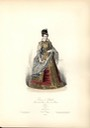 Joanna of Austria Grand Duchess Tuscany hand color costume print from ca. 1870 eBay