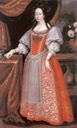 Katalin Thököly (1655-1701), consort of Esterházy Ferenc by ? (location ?) From pinterest.com:sharonfingold:fashion-history-1600s: trimmed