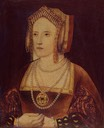 Between 1527 and 1533 Katherine Parr while still Lady Borough by ? (Lambeth Palace - London UK)