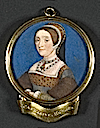 Katherine Howard by Hans Holbein the Younger (Lewis Walpole Library, Yale University, New Haven Connecticut)