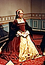 Katherine Howard in wax (Madame Tussaud's London; photo credit Lara E. Eakins)