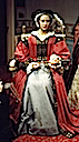 Katherine Parr in wax (Madame Tussaud's London; Photo credit Lara E. Eakins)
