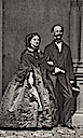 King Maximilian II and Queen Maria of Bavaria