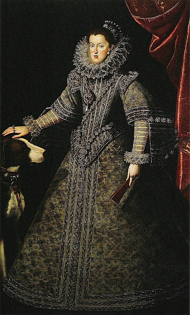 Königin Margaret von Östereich by Juan van der Hamen y León (location unknown to gogm)