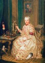 Kurfürstin Maria Elisabeth Auguste von der Pfalz by Johann Georg Ziesenis (location unknown to gogm)