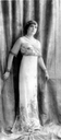 La Infantona by Leopold Emile Reutlinger wearing a slender dress