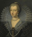 La reine Anne d'Autriche by Frans Pourbus the Younger