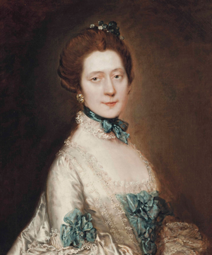 Lady Anne Furye, née Greenly by Thomas Gainsborough (auctioned by Christie's) Christie's