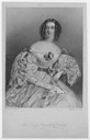 Lady Augusta Baring engraved by Henry Thomas Ryall after A. E. Chalon