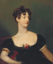 Lady Beresford, seated, half-length in a black dress decorated with a rose by Sir Thomas Lawrence (private collection) From www.magnoliabox.com X2