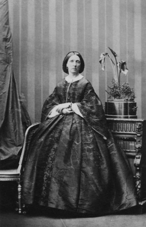 Lady Caroline Sophia Mordaunt, née Murray, by Camille Silvy From Paul Frecker detint X 1.2