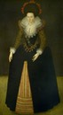 Lady Croke (1588–1638), née Brigette Hawtrey, last of the Hawtrey Family attributed to Marcus Gheeraerts the younger (Chequers Court - Ellesborough, Buckinghamshire, UK) bbc.co