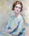 Lady Cynthia Asquith by Ambrose McEvoy (auctioned by Gorringes)