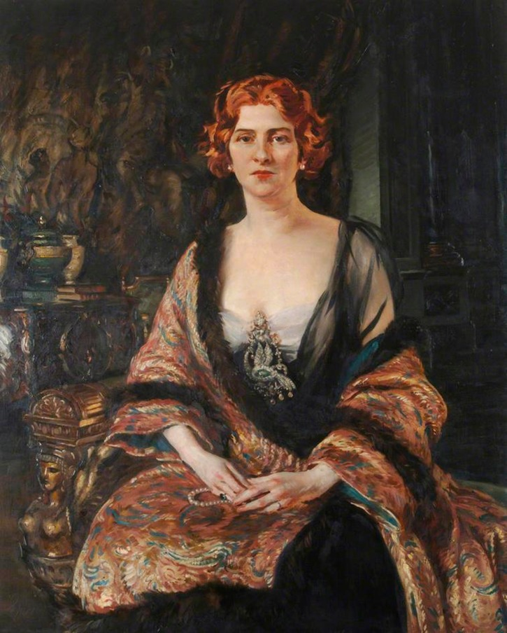Lady d'Erlanger by by William Bruce Ellis Ranken (Portsmouth Museums and Records Service - Portsmouth UK)