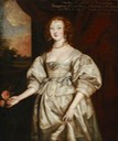 Lady Elizabeth Cecil Countess of Devonshire after Sir Anthonis van Dyck (Hardwick Hall - Doe Lea, Chesterfield, Derbyshire, UK) From artuk.org shadows inc. exp fixed lower half of right edge