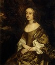 Lady Elizabeth Percy (1636-1717), wife of Arthur Capel by Sir Peter Lely (Watford Museum - Watford, Herts UK)