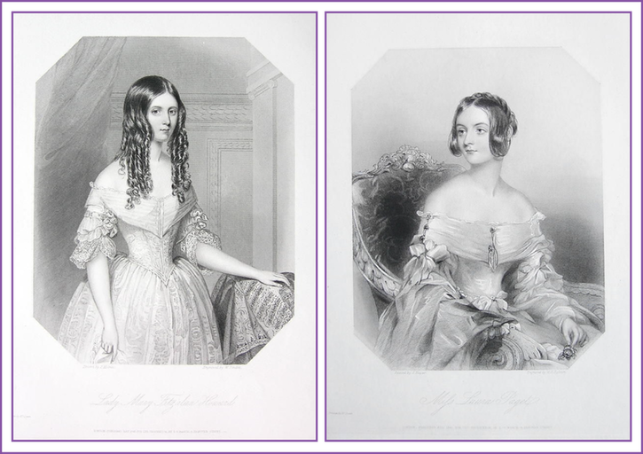 Lady Fitzalan-Howard and Miss Laura Paget