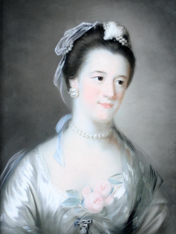 Lady, identified as the Marchioness of Donegal, probably Anne Hamilton, by circle of Francis Coates (auctioned by Bonhams)