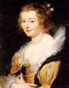 Lady Katherine Manners by Peter Paul Rubens (Palazzo Pitti, Firenze Italy)