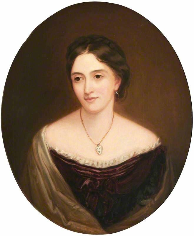 Lady Mary Catherine Sackville-West (d.1900), Countess of Derby by Jane Hawkins after James Rannie Swinton (Hughenden Manor - High Wycombe, Buckinghamshire, UK) bbc.co